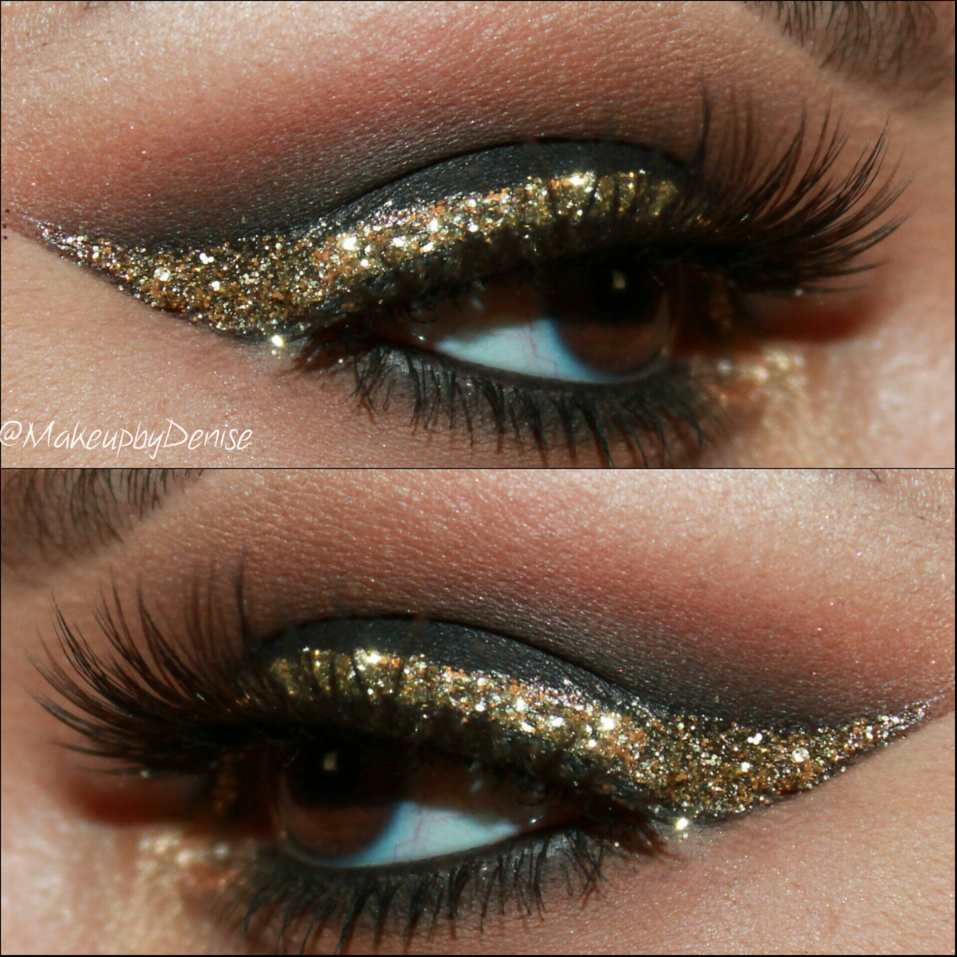 glitters adds just the right amount of drama to any look take a smokey ...